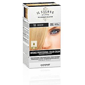 Tintes INTENSE PROFESSIONAL COLOR CREAM permanent hair color #10 Il Salone Milano