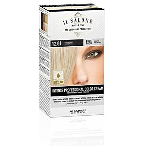 Tintes INTENSE PROFESSIONAL COLOR CREAM permanent hair color #12.01 Il Salone Milano