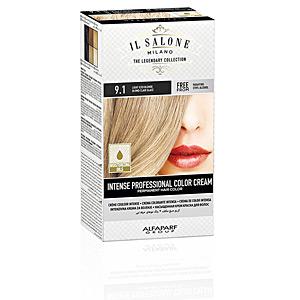 Tintes INTENSE PROFESSIONAL COLOR CREAM permanent hair color #9.1 Il Salone Milano