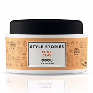 Hair styling product STYLE STORIES funk clay Alfaparf