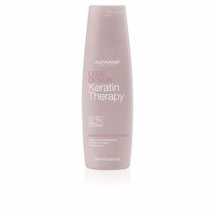 Keratin hair conditioner - Hair repair conditioner LISSE DESIGN KERATIN THERAPY maintenance conditioner Alfaparf