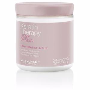 Mascarilla con keratina LISSE DESIGN KERATIN THERAPY rehydrating mask Alfaparf