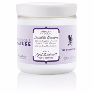 Mascarilla reparadora - Tratamiento hidratante pelo PRECIOUS NATURE double cream with fig & walnut Alfaparf