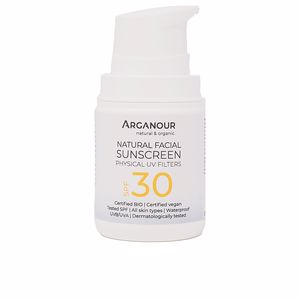 Facial NATURAL&ORGANIC facial sunscreen SPF30 Arganour