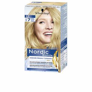 Mascara NORDIC BLONDE L1 aclarante intensivo 0% amoniaco Schwarzkopf