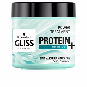 Hair mask for damaged hair GLISS PROTEIN+ mascarilla hidratación cabello normal Schwarzkopf