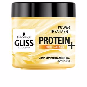 Hair mask for damaged hair GLISS PROTEIN+ mascarilla nutrición cabello seco Schwarzkopf