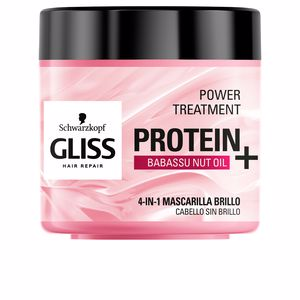 Hair mask for damaged hair - Shiny hair mask GLISS PROTEIN+ mascarilla cabello sin brillo Schwarzkopf