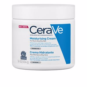 Tratamiento Facial Hidratante MOISTURISING CREAM for dry to very dry skin Cerave