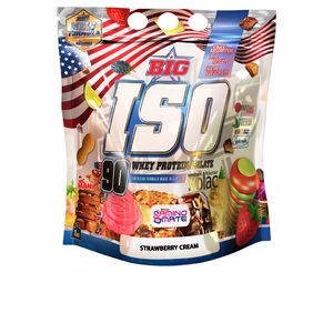 Isoliertes Serumprotein BIG ISO - aislado proteina #strawberry cream Big