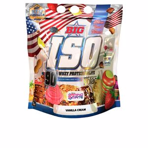 Isolated whey protein BIG ISO - aislado proteina #vanilla cream Big
