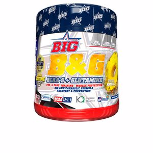 Amino-acids and proteins B&G® - BCAAS 12:1:1 con glutamina #painapple Big