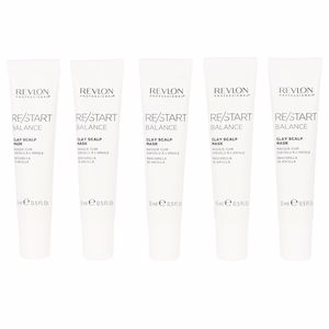 Mascarilla reparadora RE-START balance clay scalp mask Revlon