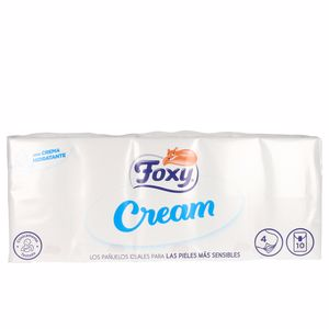 Pañuelos de papel CREAM pañuelos pieles sensibles Foxy