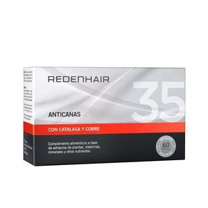 Hair color treatment ANTICANAS hair supplement cápsulas Redenhair