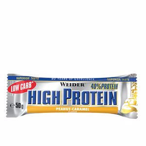 Riegel 40% PROTEIN LOW CARB bar #peanut-caramel Weider