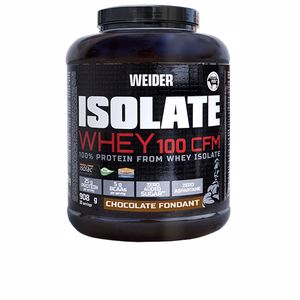 Isolated whey protein ISOLATE WHEY 100 CFM #chocolate fondant Weider