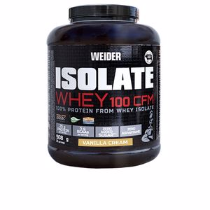 Isolated whey protein ISOLATE WHEY 100 CFM #vanilla cream Weider