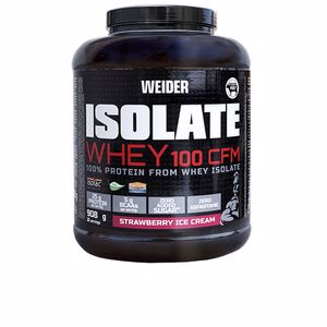 Isoliertes Serumprotein ISOLATE WHEY 100 CFM #strawberry Weider