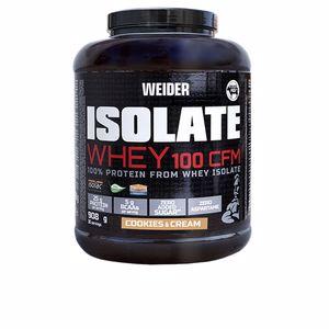 Proteína de suero aislada ISOLATE WHEY 100 CFM #cookies&cream Weider