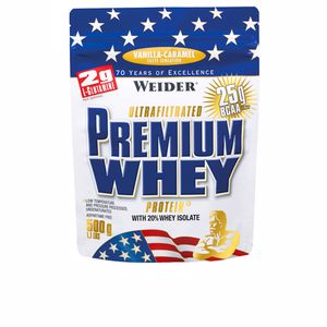 Whey concentrate - Isolated whey protein PREMIUM WHEY #vanilla caramel Weider