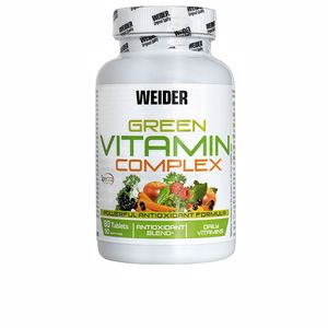 Vitamins - Minerals and trace elements GREEN VITAMIN complet tablets Weider