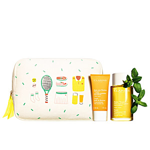 Body cosmetics set HUILE TONIC SET Clarins