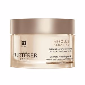 Hair mask for damaged hair ABSOLUE KÉRATINE ultimate repairing mask fine to medium hair Rene Furterer