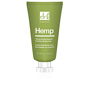 Tratamiento Facial Hidratante HEMP infused natural moisturiser Dr. Botanicals