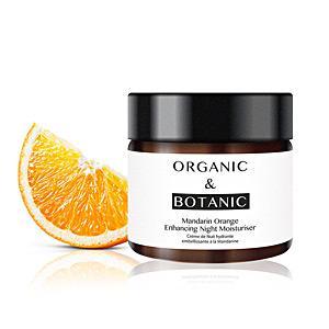 Face moisturizer MANDARIN ORANGE repairing night moisturiser Organic & Botanic