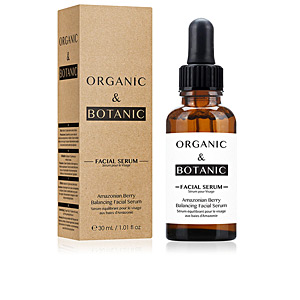 Tratamento hidratante rosto AMAZONIAN BERRY balancing facial serum Organic & Botanic