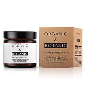 Gesichts-Feuchtigkeitsspender MADAGASCAN COCONUT preserving day moisturiser Organic & Botanic