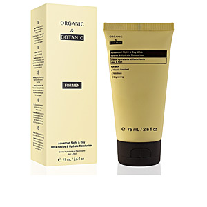 Tratamiento Facial Hidratante FOR MEN advanced night&day ultra revive&hydrate moisturiser Organic & Botanic