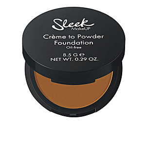 CRÈME TO POWDER foundation oil-free #Canelle