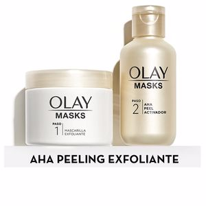Face scrub - exfoliator MASKS VITAMIN C + aha sesurfacing peel Olay