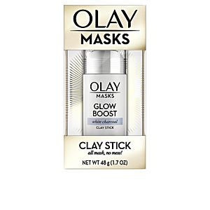 Mascarilla Facial MASKS CLAY STICK glow boost white charcoal Olay