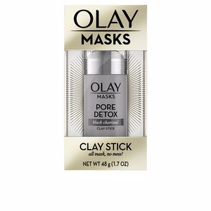 Mascarilla Facial MASKS CLAY STICK pore detox black charcoal Olay