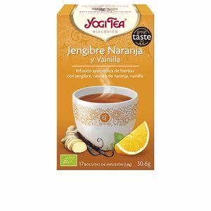 Getränk JENGIBRE NARANJA Y VAINILLA infusión Yogi Tea