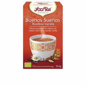 Bevande BUENOS SUEÑOS ROOIBOS VAINILLA infusión Yogi Tea