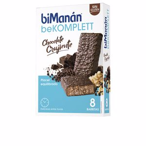 Barre BE KOMPLETT barritas #chocolate crujiente Bimanán