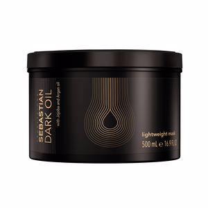 Hair mask for damaged hair DARK OIL lightweight mask Sebastian