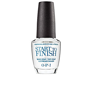 Smalto per unghie START TO FINISH base coat, top coat&strengthener Opi
