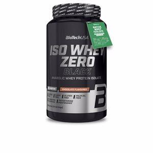Isolated whey protein ISO WHEY ZERO BLACK #vainilla Biotech Usa