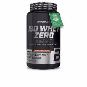 Isolated whey protein ISO WHEY ZERO BLACK #fresa Biotech Usa