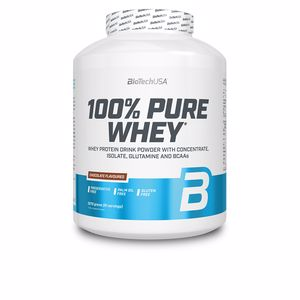 Whey concentrate 100%PURE WHEY #fresa Biotech Usa