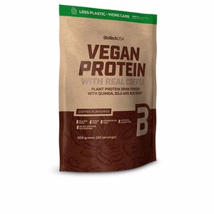 Vegetable protein VEGAN PROTEIN #chocolate-canela Biotech Usa