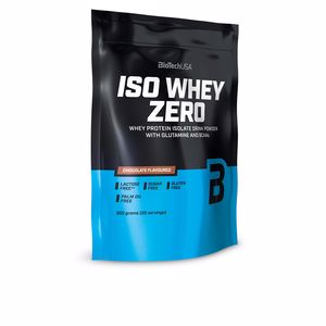 Isolated whey protein ISO WHEY ZERO #choco blanco Biotech Usa