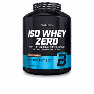 Isolated whey protein ISO WHEY ZERO #tiramisu Biotech Usa