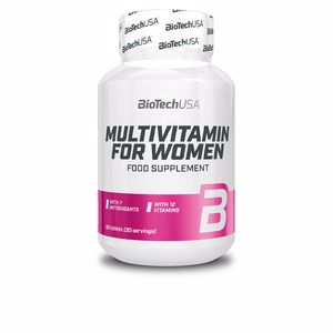 Vitamins MULTIVITAMIN for women tablets Biotech Usa