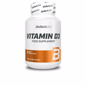 Vitamins VITAMIN D3 tabletas Biotech Usa